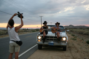 Shooting Hotel California in Palmdale