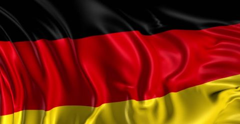 German Flag, Germany's waiting