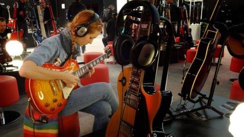 Lisa at Musikmesse Frankfurt