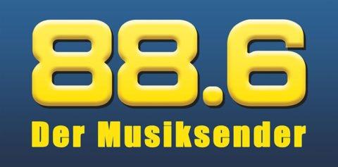 88,6 Der Musiksender Logo
