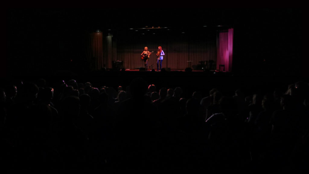 MonaLisa Twins unplugged at the Kulturenfest in Favoriten, Vienna