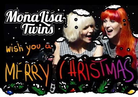 MonaLisa Twins Christmas Card 2015