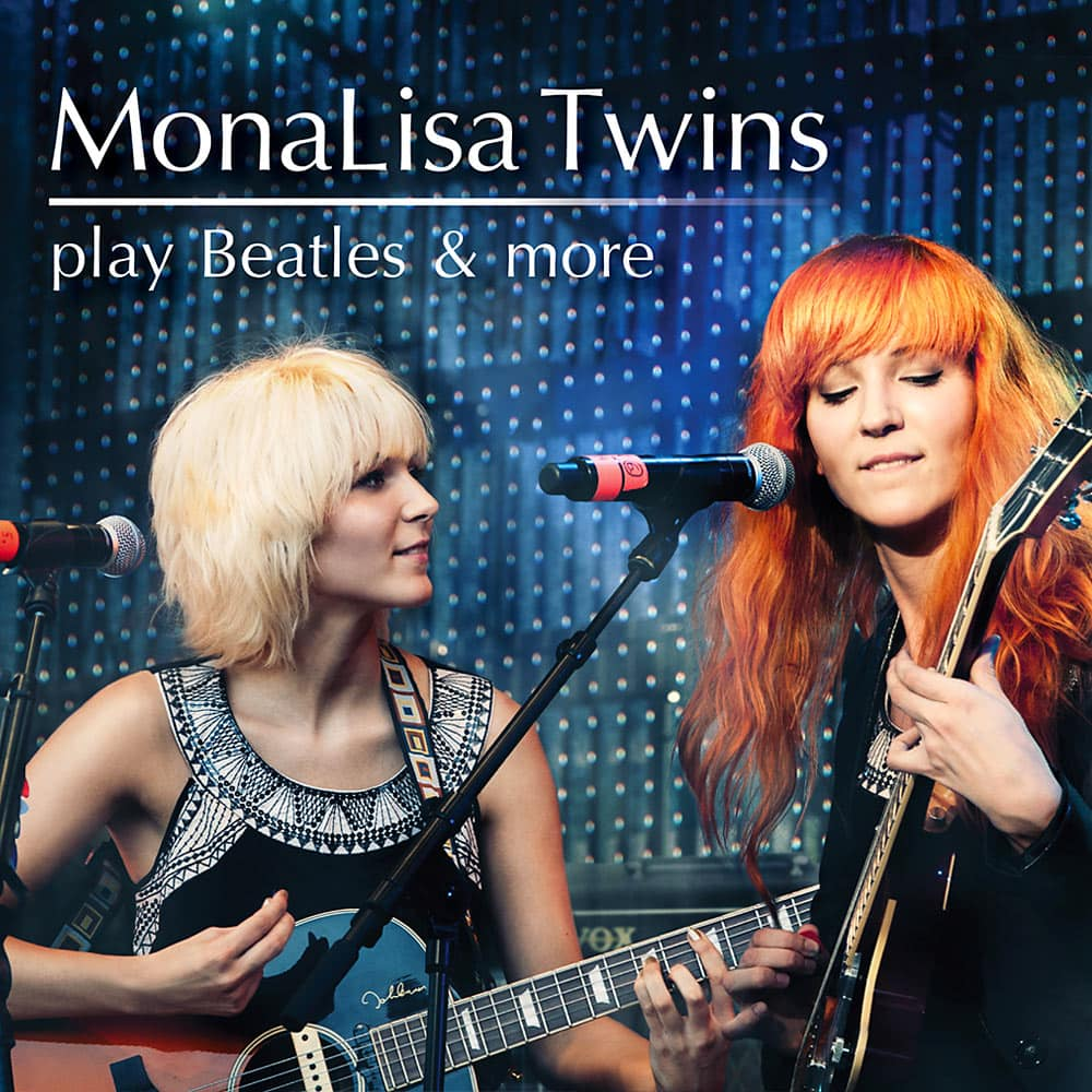MonaLisa Twins Play Beatles & More Album Cover 1000px