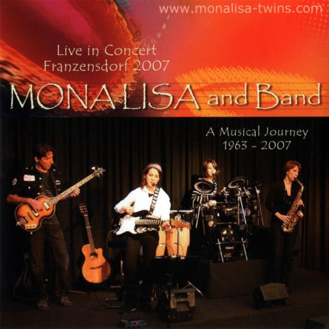 Live In Concert 2007 Album Cover 1000px