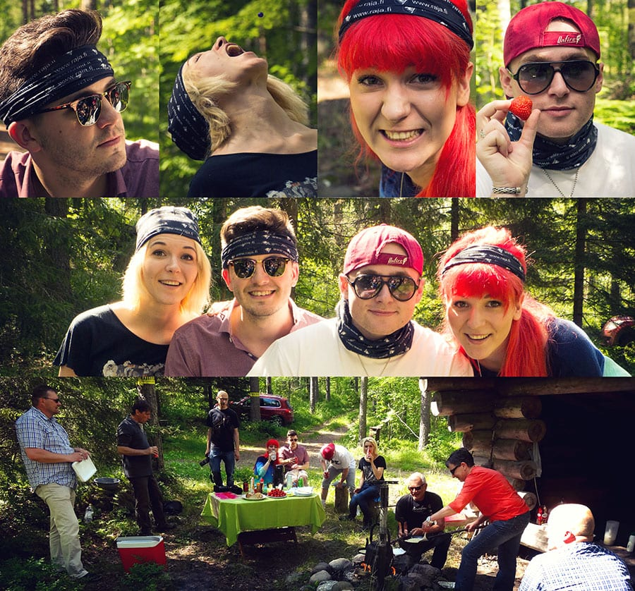 MonaLisa Twins Welcome Pic-Nic in Parikkala, Finland 2015