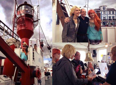 MonaLisa Twins on Pirate Radio with Tony Currie (BBC Scotland)