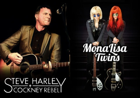 "MonaLisa Twins announced to join Steve Harley & Cockney Rebel for their ""Best Years Of Our Lives"" 40th Anniversary UK tour 2015"