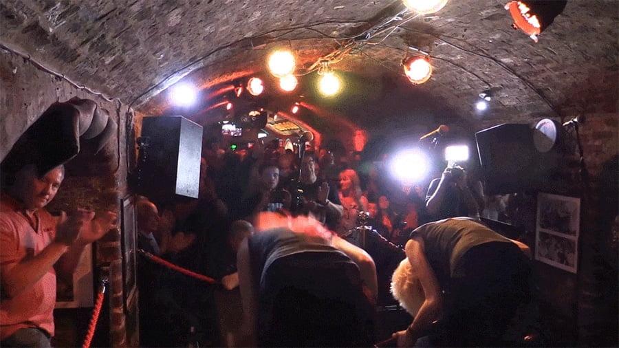 MonaLisa Twins Last Cavern Club Residency Bow