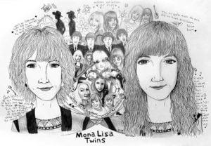 MonaLisa Twins Fan Art Revolver