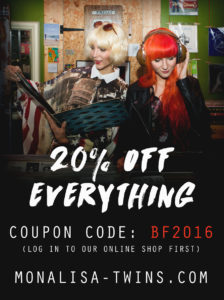 Black Friday 2016 Sale Advert -20%