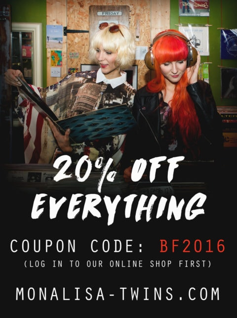 Black Friday 2016 Sale Advert -20%