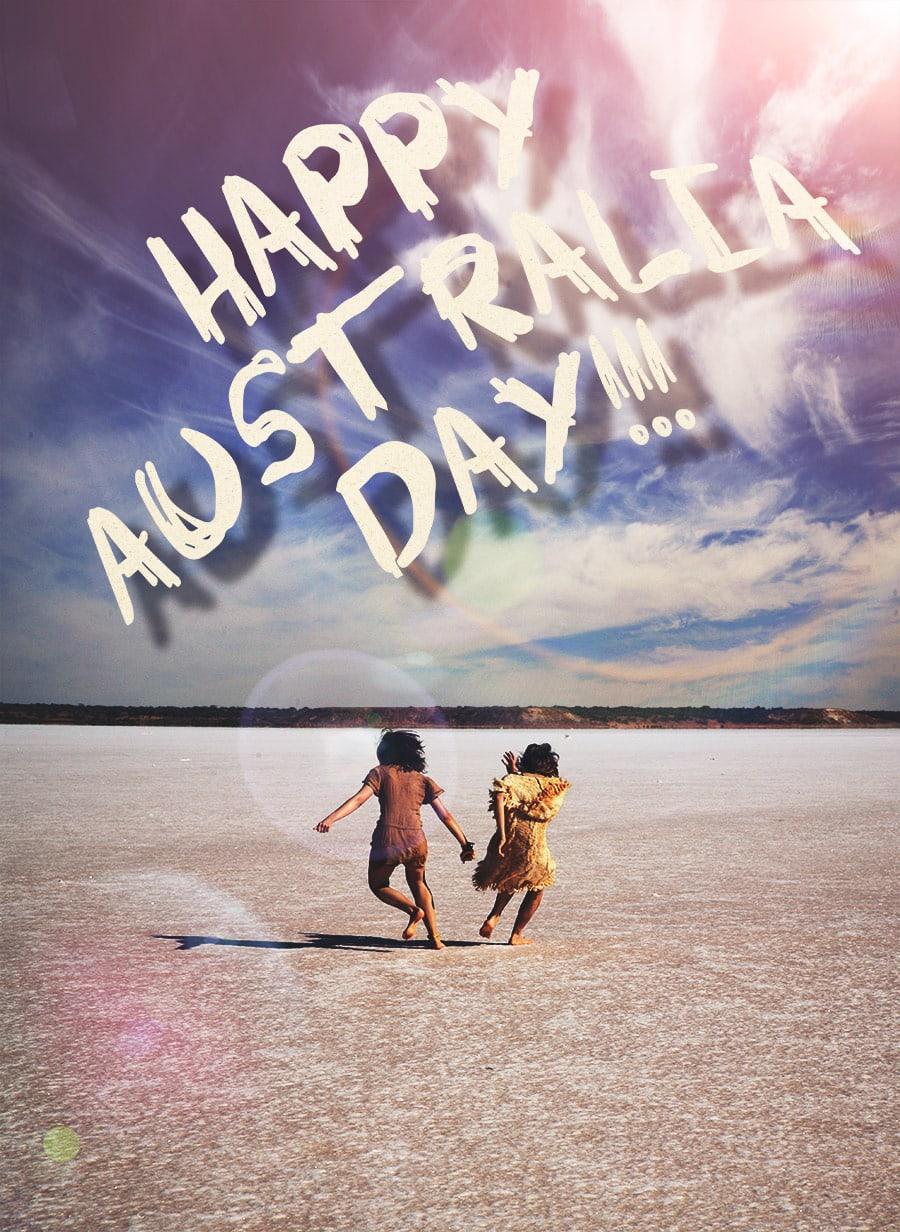 MonaLisa Twins in Australia for Australia Day 2017