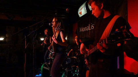 MonaLisa Twins live on stage at the Cenario in Vienna