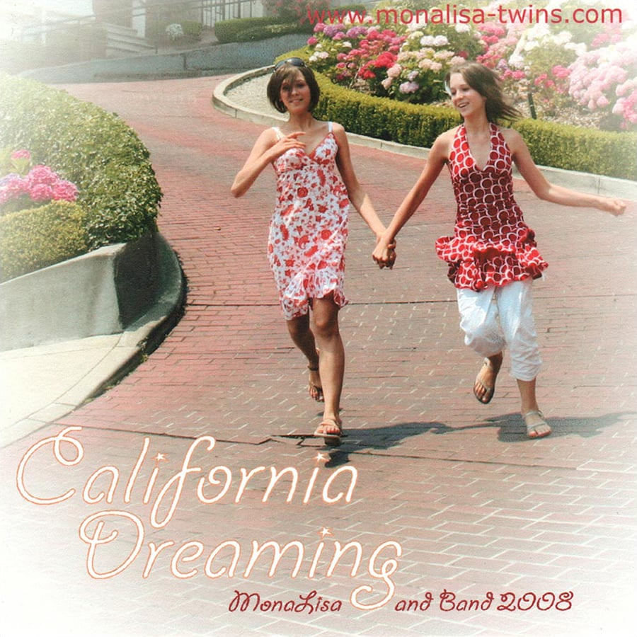 MonaLisa and Band California Dreaming EP Cover 900px