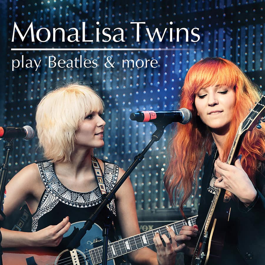 MonaLisa Twins play Beatles & more album cover 900px