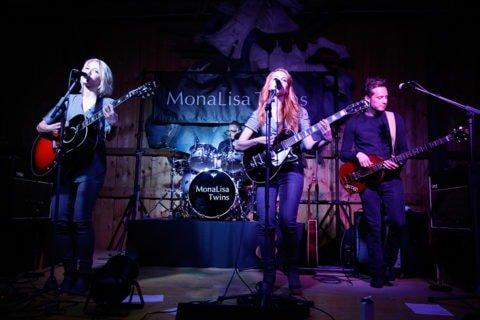 MonaLisa Twins perform in Wittau at Hödl