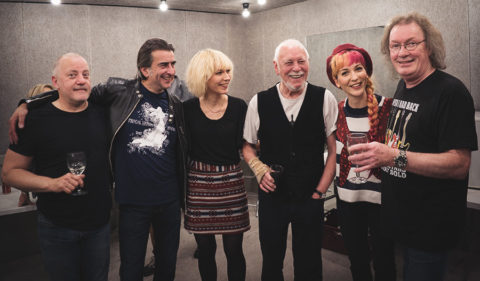 MonaLisa Twins meeting Procol Harum at the Liverpool Philharmonic Hall