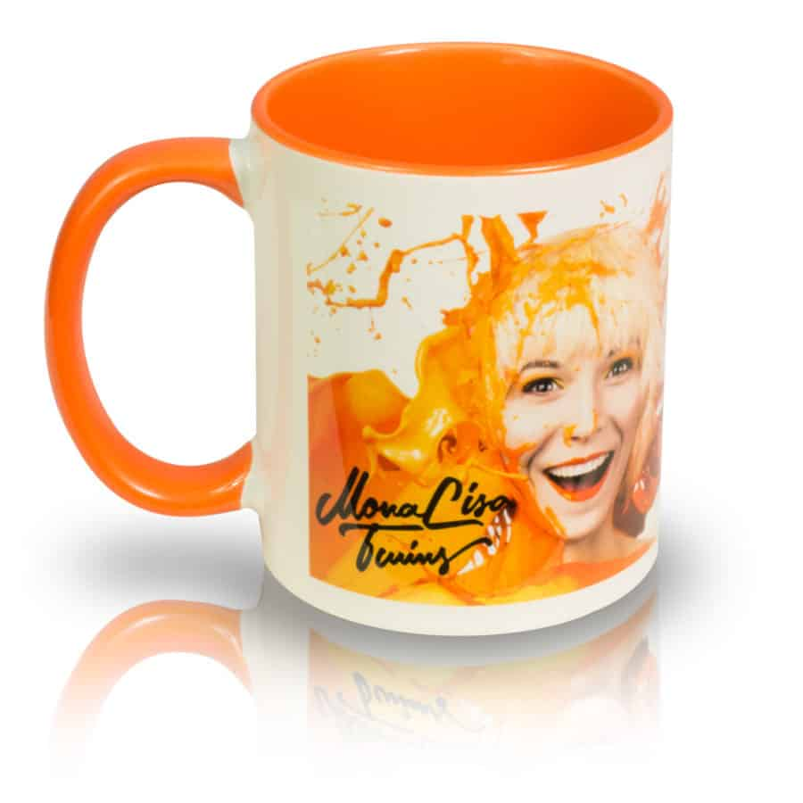 "Coffee Mug ""ORANGE"" Left View"