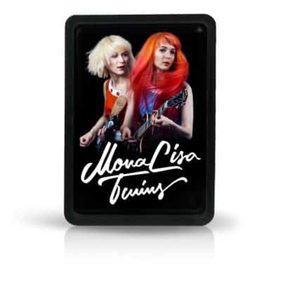 Fridge Magnet – MonaLisa Twins Live black