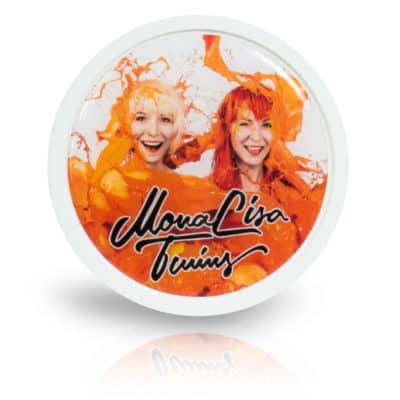 Fridge Magnet – ORANGE white