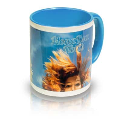 """Coffee Mug """"I Don't Know Birds That Well"""" Angle View"""