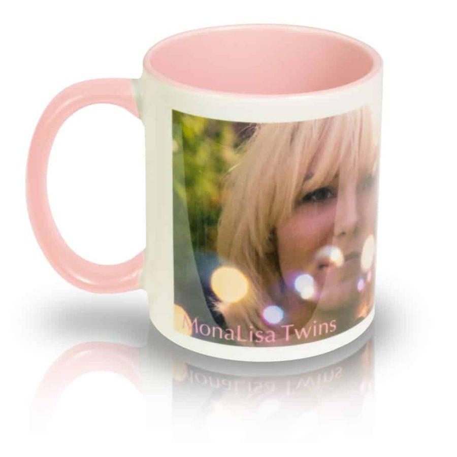 "Coffee Mug ""Bubbles"" Left View"