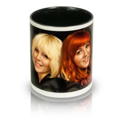 "Coffee Mug ""Duo"" Front View"
