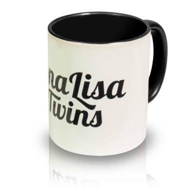 """Coffee Mug """"Logo"""" Angle View"""
