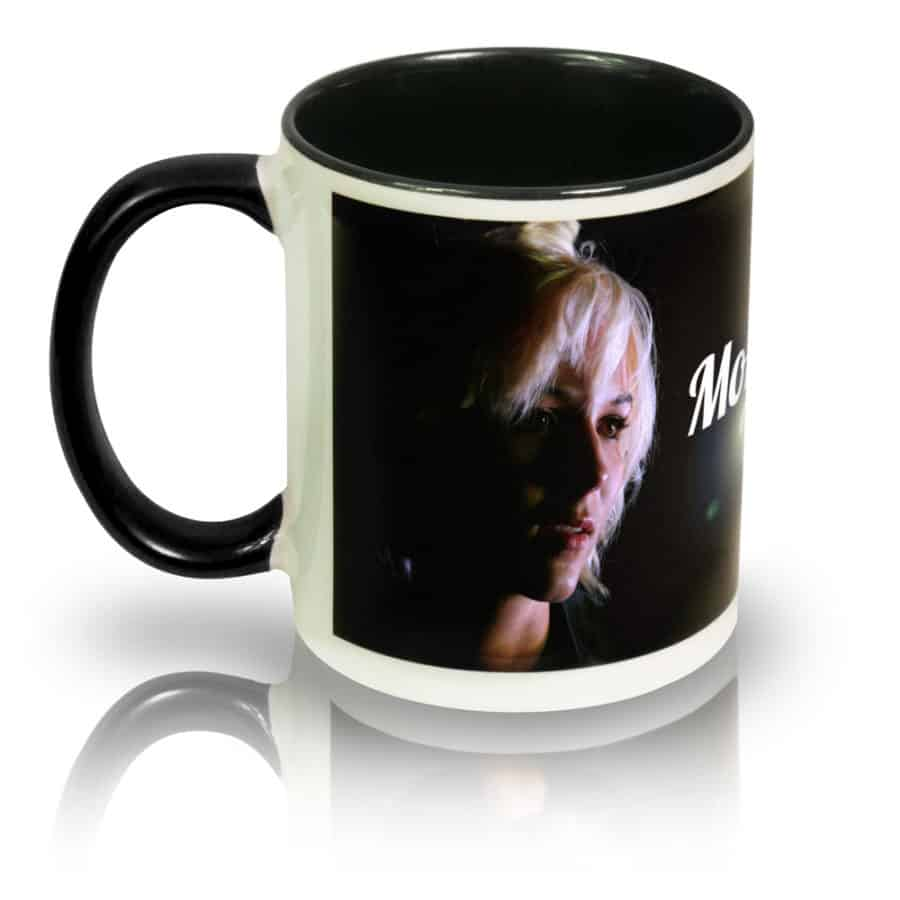 "Coffee Mug ""Nothing Is In Vain"" Left View"