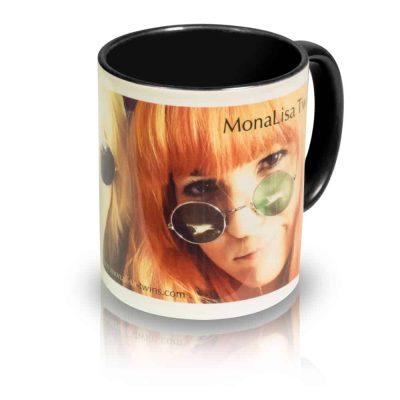 "Coffee Mug ""Spectacles"" Angle View"