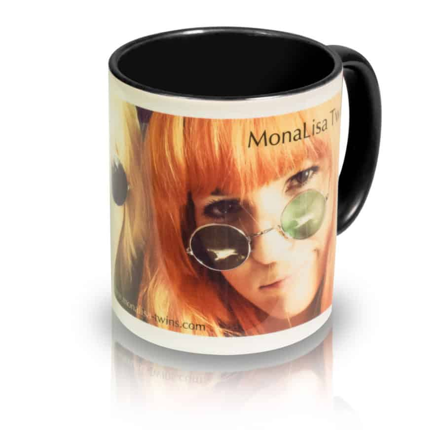 "Coffee Mug ""Spectacles"" Angle View"