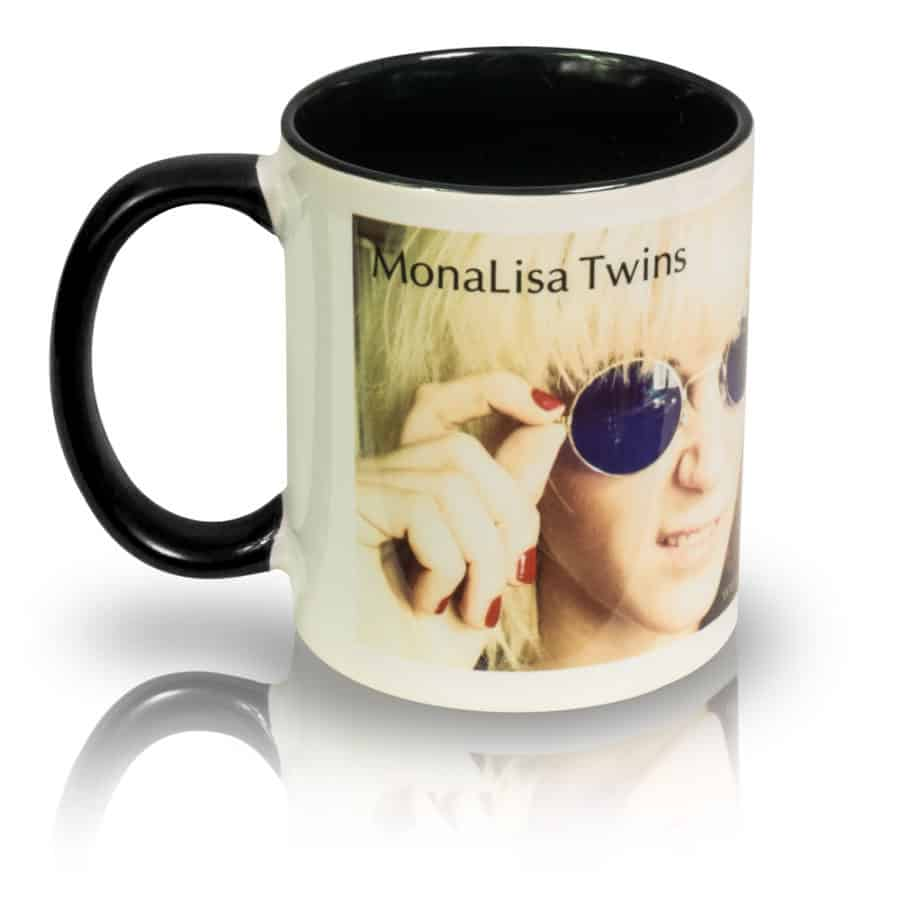 "Coffee Mug ""Spectacles"" Left View"
