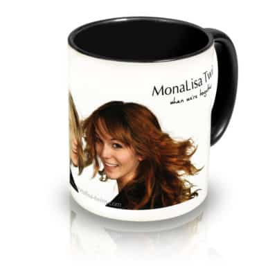 "Coffee Mug ""When We're Together"" Angle View"