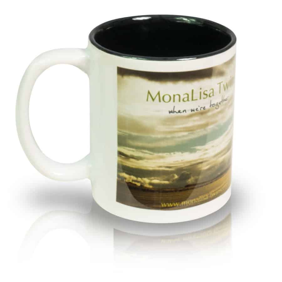 "Coffee Mug ""The Wide, Wide Land"" Left View"