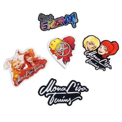 Sticker Set #1 – ORANGE singles
