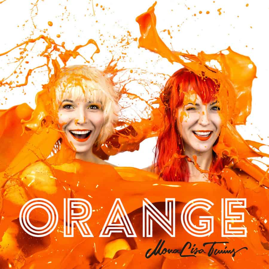 Orange Album Cover by MonaLisa Twins