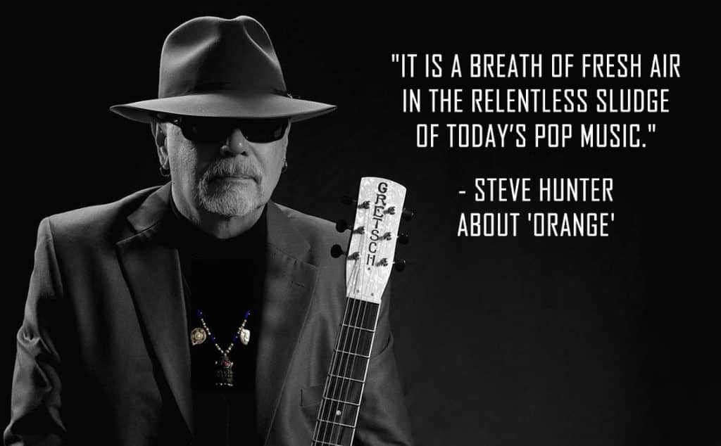 Steve Hunter with ORANGE quote