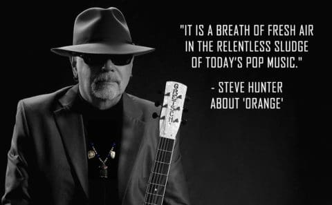 Steve Hunter with ORANGE quote