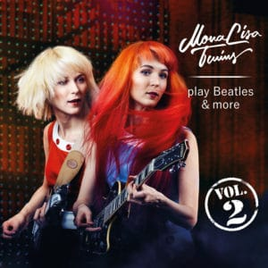 MonaLisa Twins play Beatles & more Vol. 2 Album Cover 900px