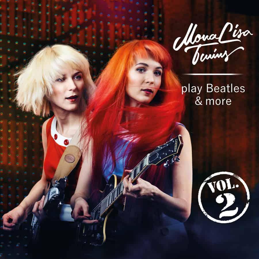 MonaLisa Twins play Beatles & more Vol. 2 Album Cover 900px