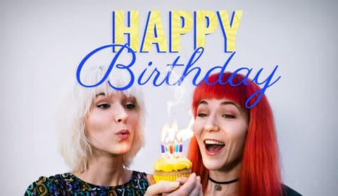 Birthday Picture cake