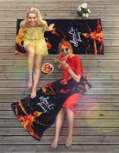 Towel Bundle Summer Sale Orange