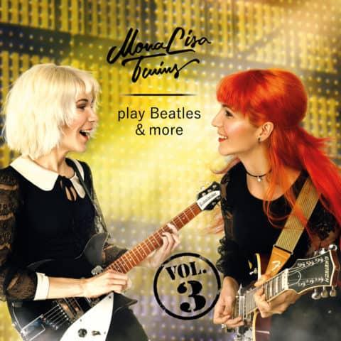 MonaLisa Twins play Beatles & more Vol 3 Album Cover