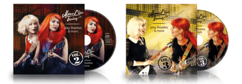 MonaLisa Twins play Beatles & more Vol 2 + 3