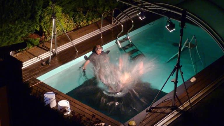 Nothing Is In Vain Pool Night Behind The Scenes