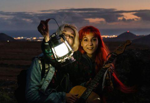 MonaLisa Twins Starman Video Shoot