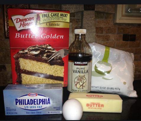 Duncan Hines Butter Golden cake mix.JPG
